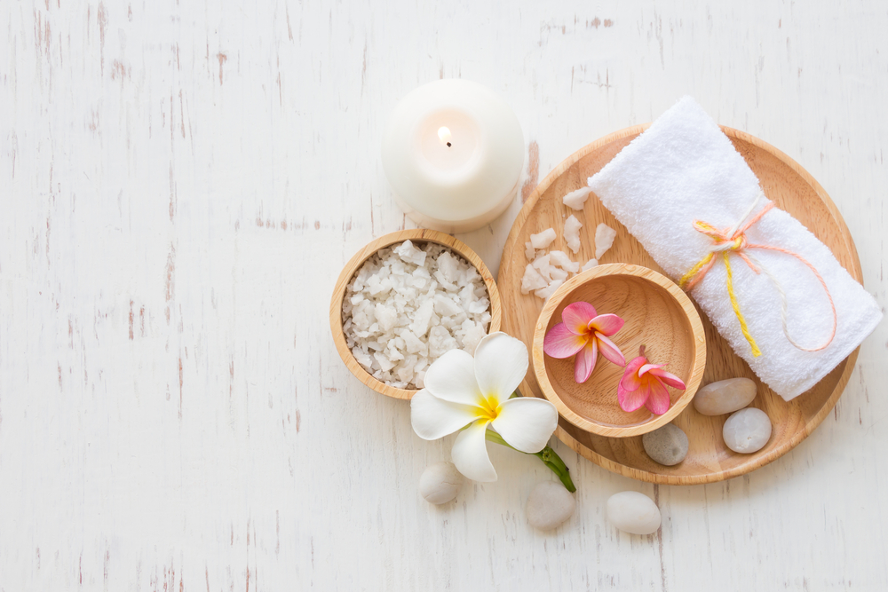 relaxing spa franchise set up
