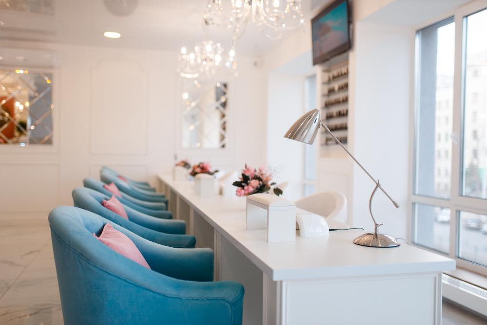 Image of a nail salon franchise